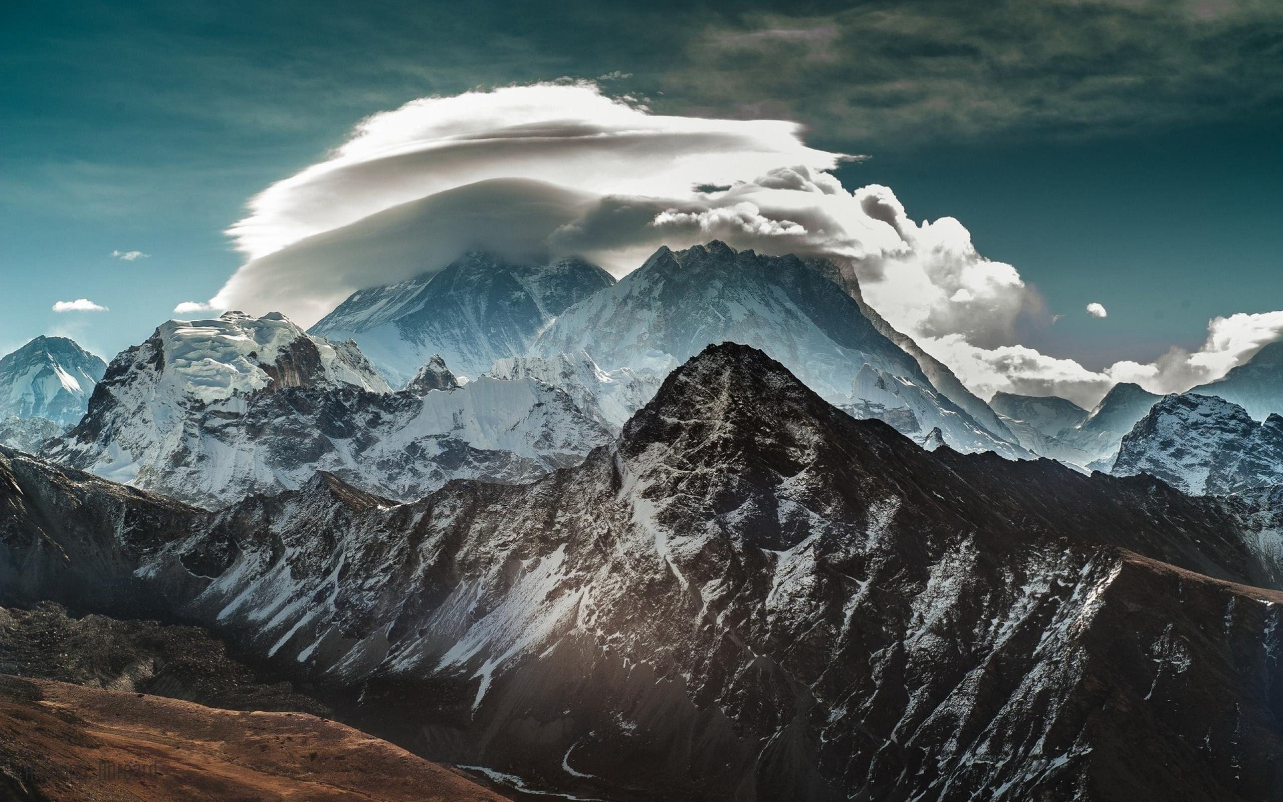 エベレストクラウド 風景写真の壁紙 2560x1600 壁紙ダウンロード 10wallpaper Com 風景写真 風景 エベレスト