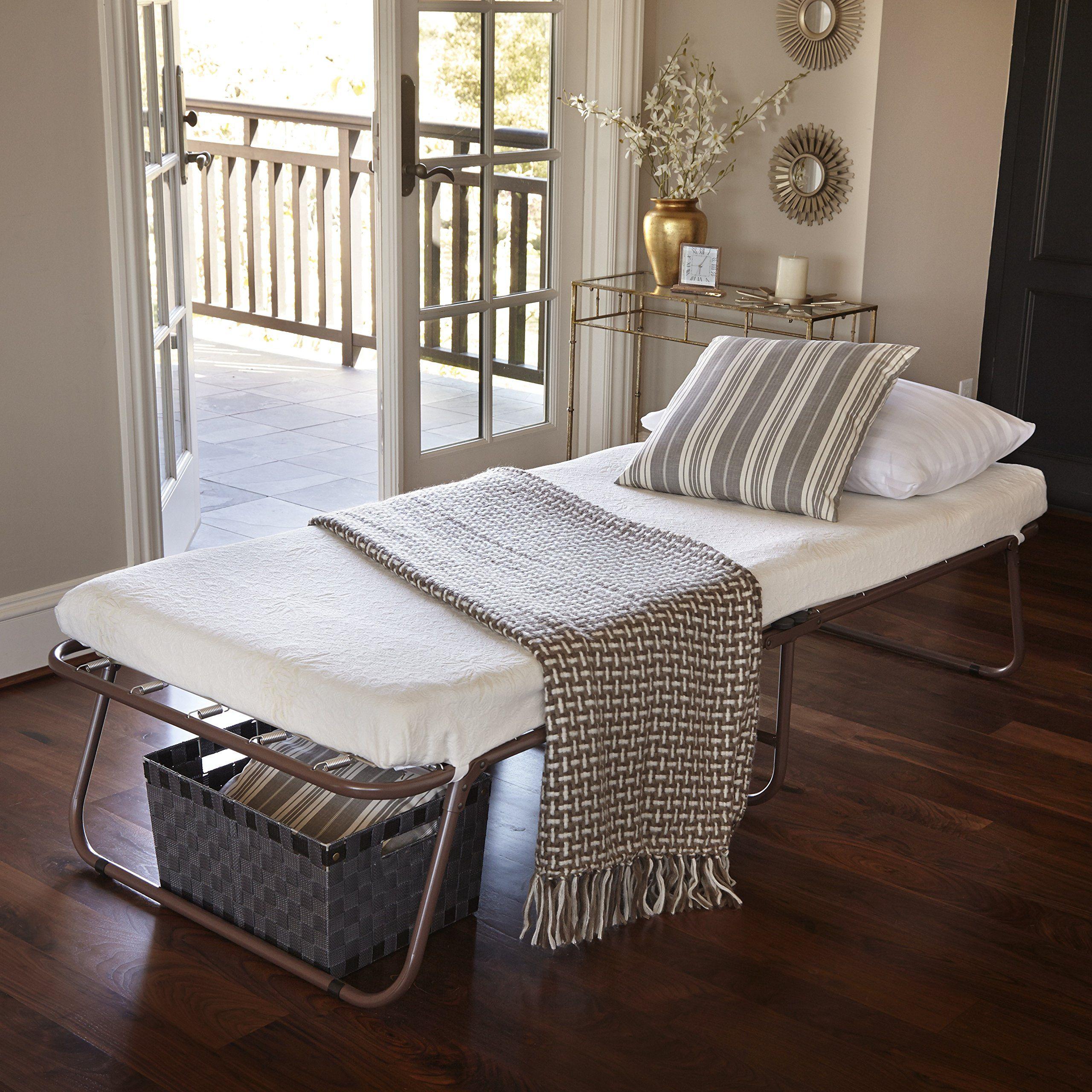 Zinus sleep master traveler deluxe folding memory foam guest bed