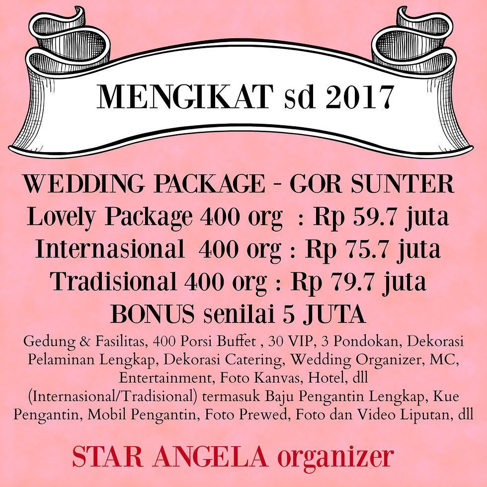 Untitled Wedding Organizer Pinterest Organiser And Voucher Sewa 5 Juta