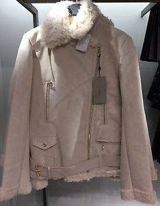 Kurtka Baranek Kozuszek Zara Ecru Zamsz Kozuch M 6692537466 Oficjalne Archiwum Allegro Raincoat Raincoats For Women Fashion