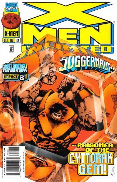 X Men Unlimited 12 By Ariel Olivetti Comics X Men Marvel Comic Books
