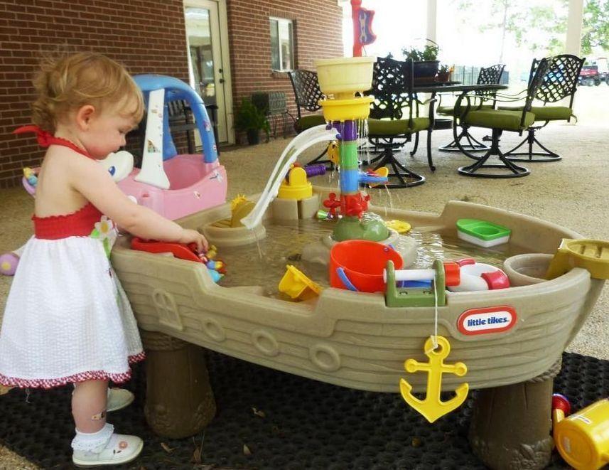 Outdoor Toddler Toys Boats : Water ship boat splash little tikes garden toy kids child