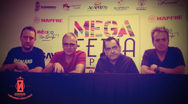 Rueda de prensa en Acapulco, México 2012 .