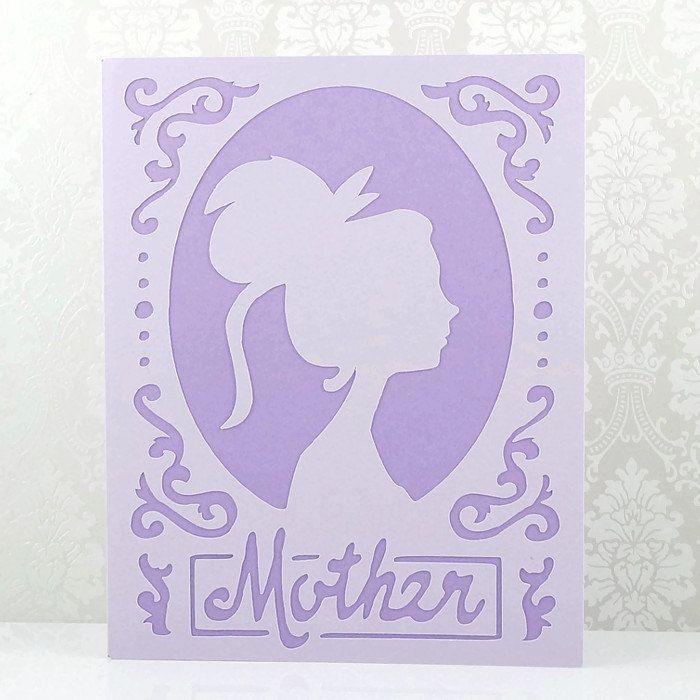 Birthday card mom birthday cards handmade mothers day card unique birthday card mom birthday cards handmade mothers day card unique modern silhouette bookmarktalkfo Image collections