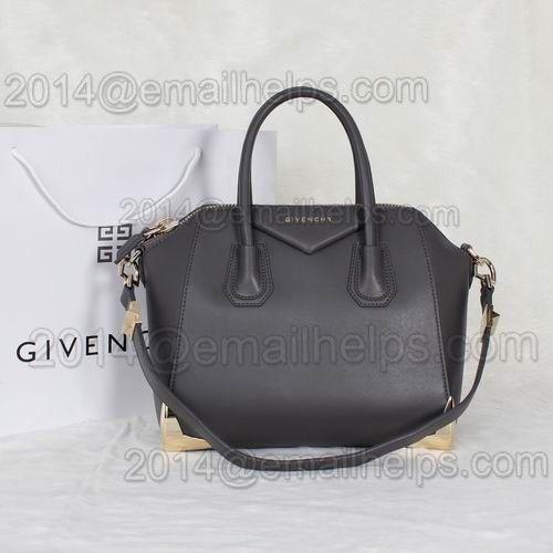 Givenchy Antigona Small Duffle Bag Dark Grey Original Leather #3011