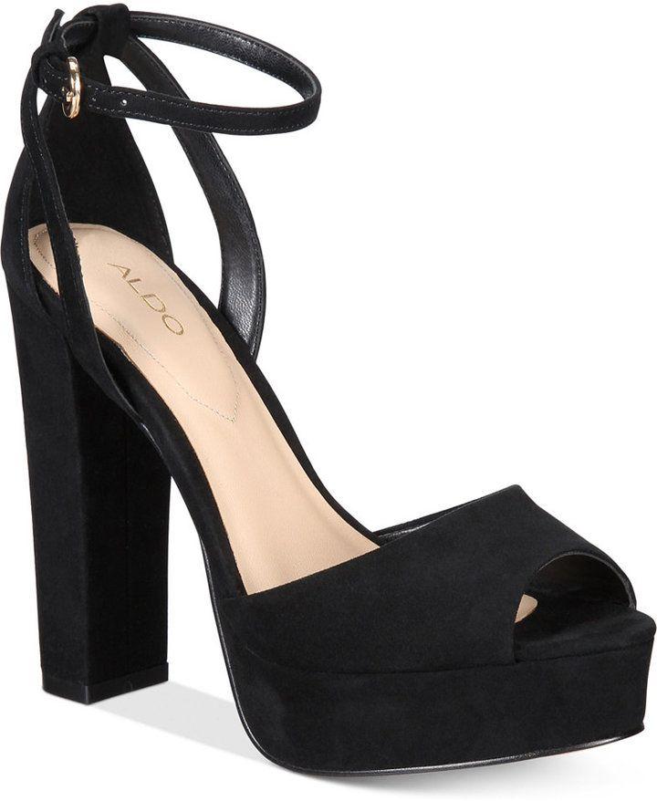 30a0977d19e Aldo Olivarra Platform Dress Sandals Women s Shoes