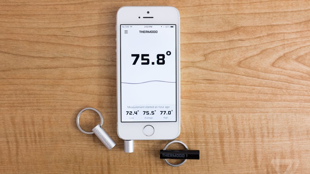 Thermodo turns your smartphone into an instant thermometer