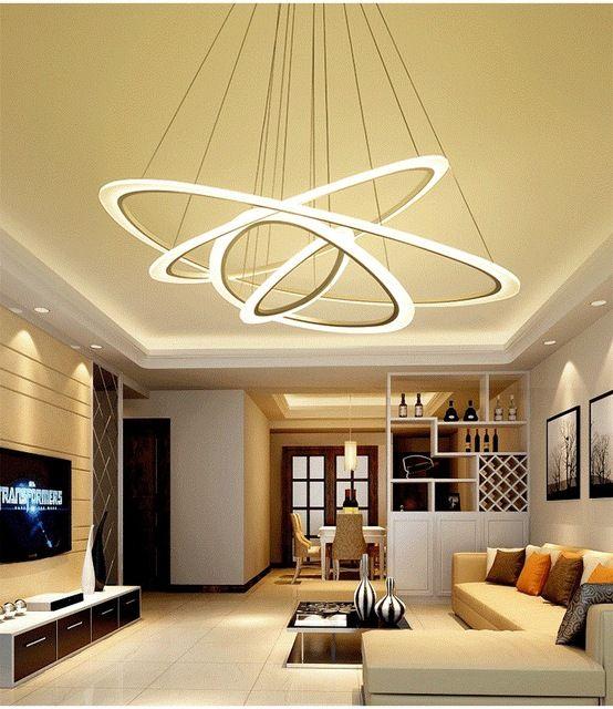 nieuwe aangekomen moderne plafond verlichting woonkamer slaapkamer