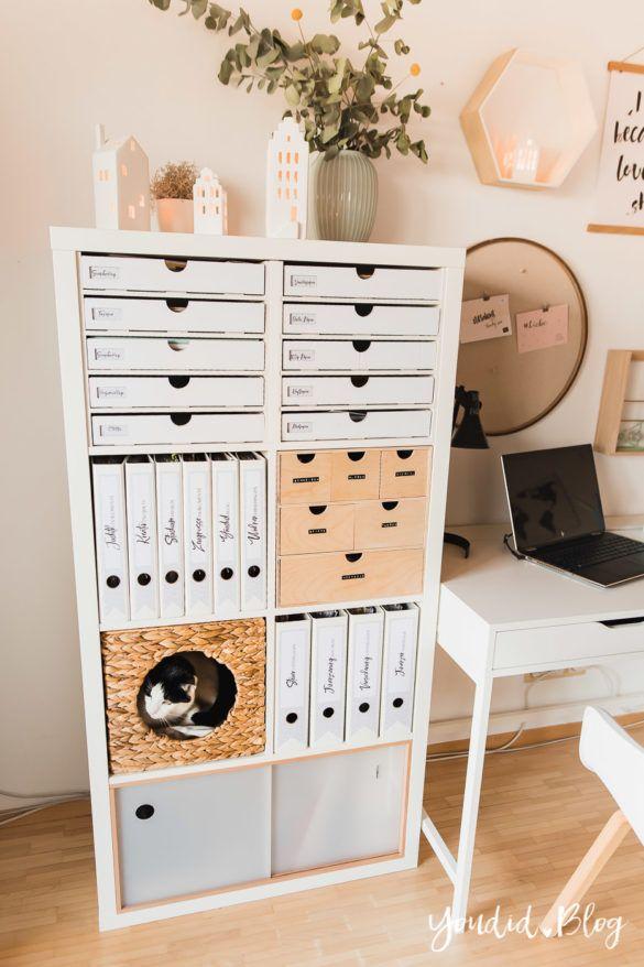 Photo of IKEA Hack – Pimp my Kallax mit New Swedish Design + kostenlose Ordnerrücken Vorlage zum Ausdrucken u