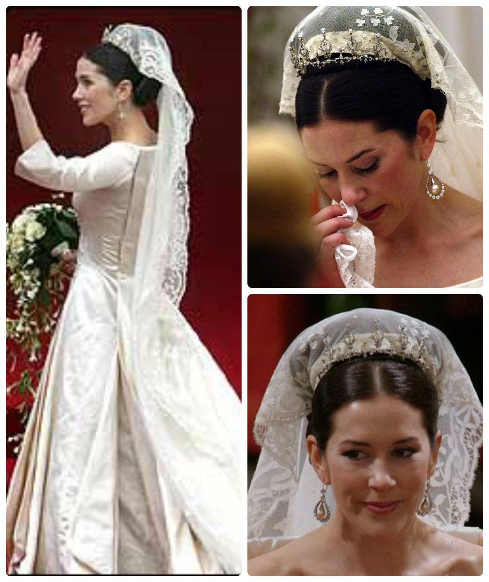 Boda Principe Federico De Dinamarca Mary Donaldson Royal Wedding Gowns Wedding Tiara Wedding [ 1200 x 1008 Pixel ]