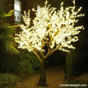 Garden Decorative Cherry Tree Lights Supplier Ichristmaslight Led Tree Tree Lighting Cherry Blossom Light Tree