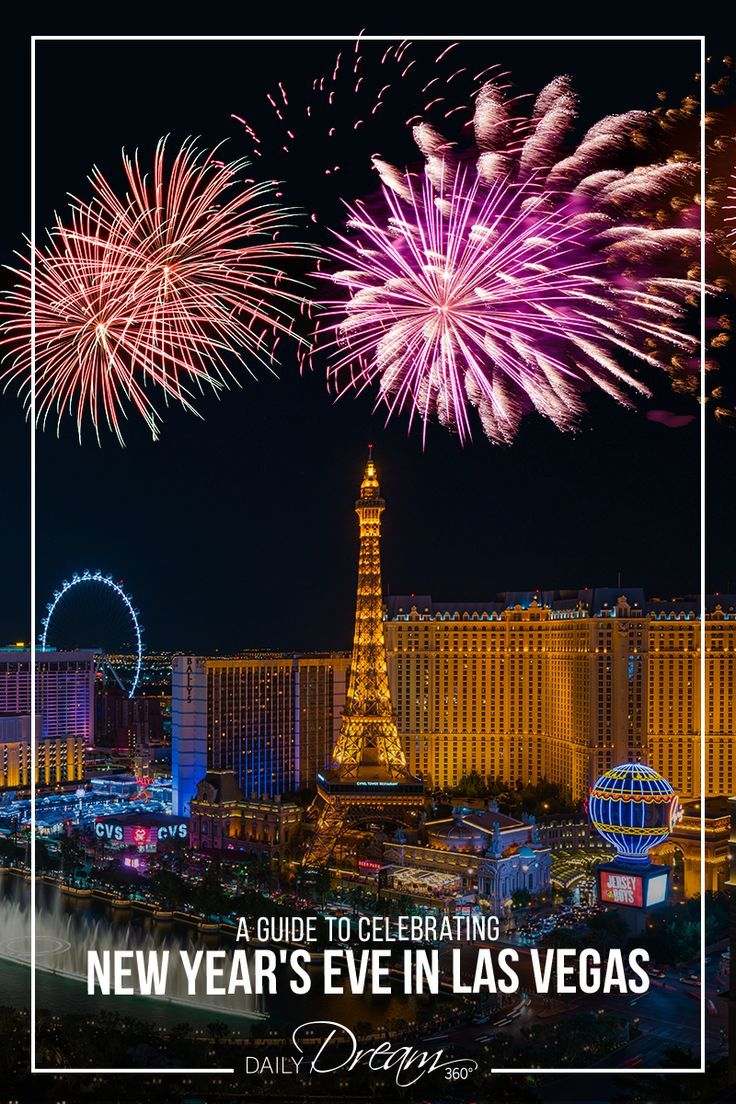 Travel Guide to Celebrating New Year's Eve Las Vegas New