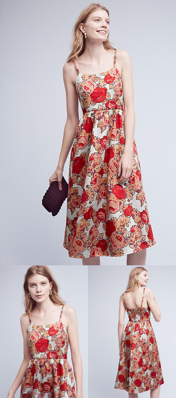 Women s fashion top 9 must haves in the wardrobe lulu rose - Red Rose Dress By Rachel Antonoff Dress Floral Dress Women S Fashion Summer Dress