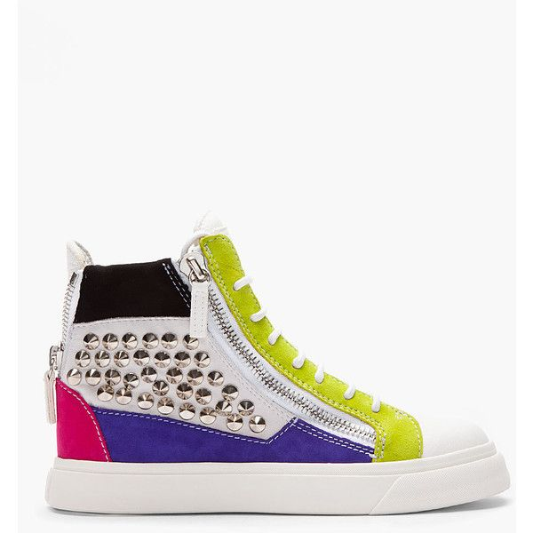 Multicolore Giuseppe Zanotti Chaussures Pour Hommes ViuWIt