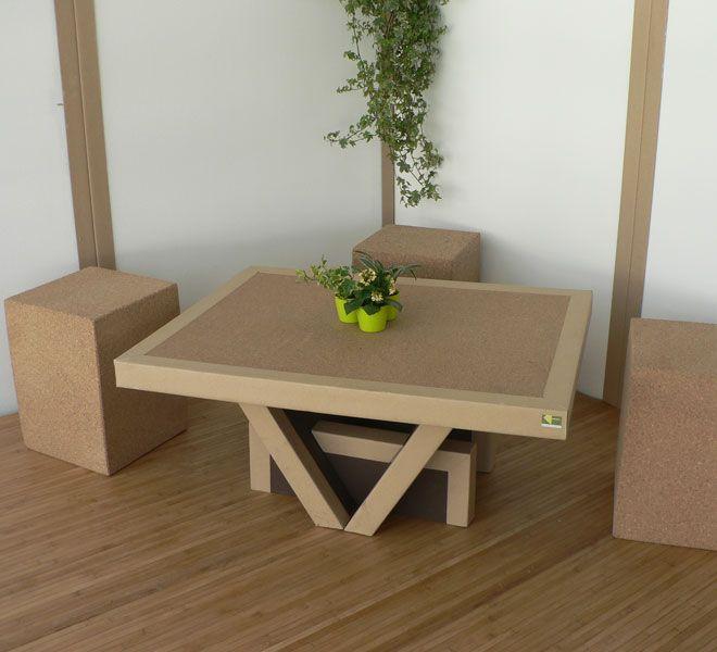 Meuble Ecologique 100 Recyclable Table Basse Mobilier De Salon Mobilier Ecolo Decoration Meuble