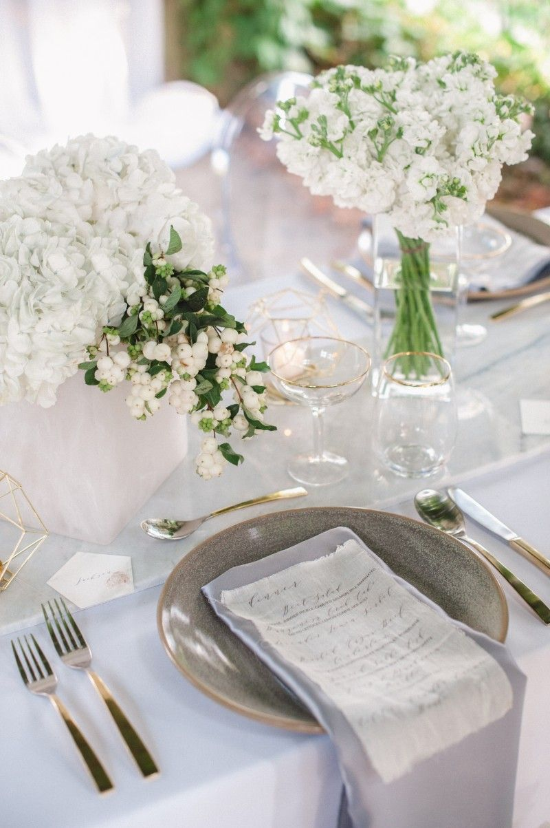 winter wedding table setting | The Day I Say I Do! | Pinterest ...