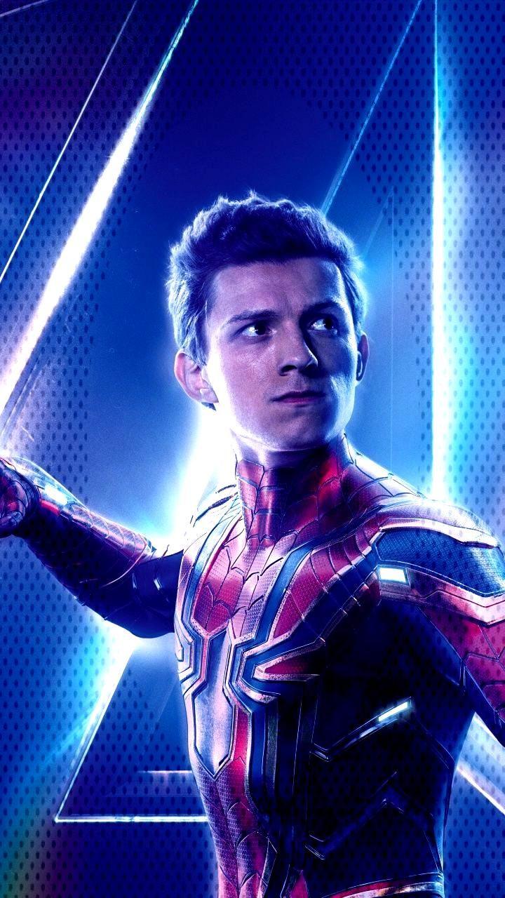 Download 720x1280 Wallpaper Avengers Infinity War, Tom Holland, Spider Man, Movie, 2018, Samsung G