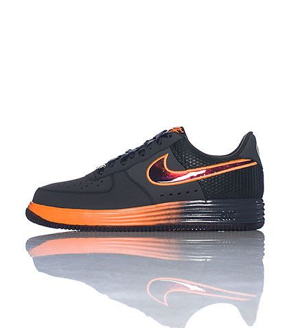 NIKE Air Force Ones Lebron James Low top men\u0027s sneaker Lace up closure  Signature NIKE swoosh