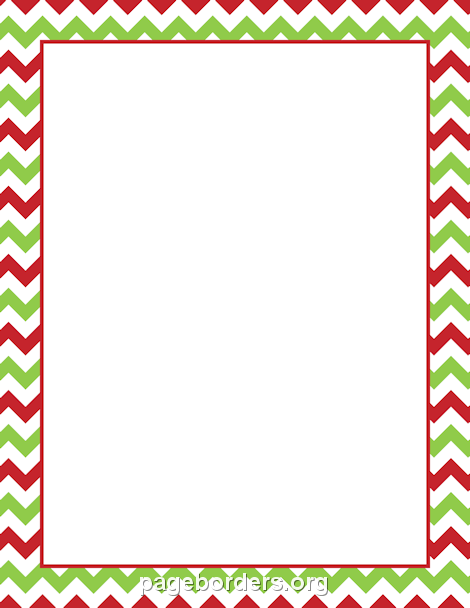 Christmas chevron border borders pinterest chevron borders border templates and clip art for Powerpoint borders free