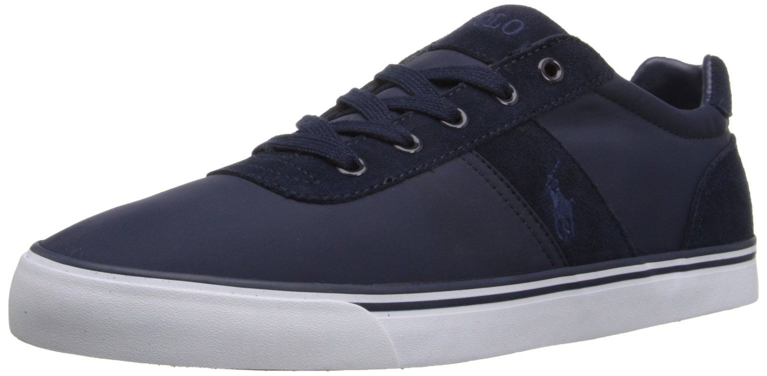 Polo Ralph Lauren Men's Hanford-SK Fashion Sneaker >>> Review more details here : Mens shoes sneakers