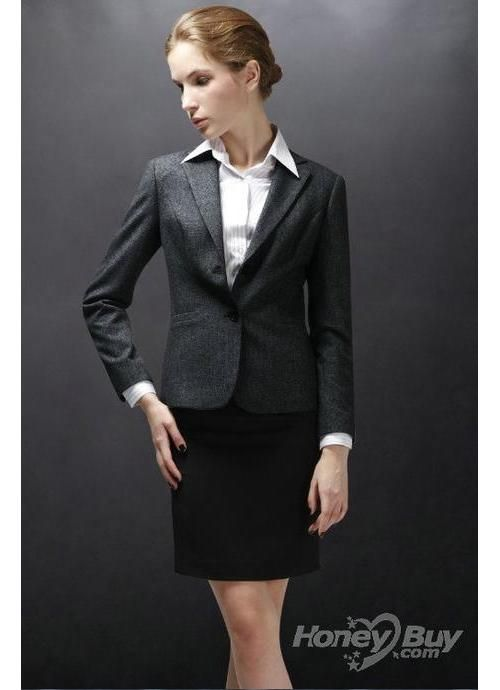 Ladies...business professional Peak Lapel Midnight Blue Gorgeous ...