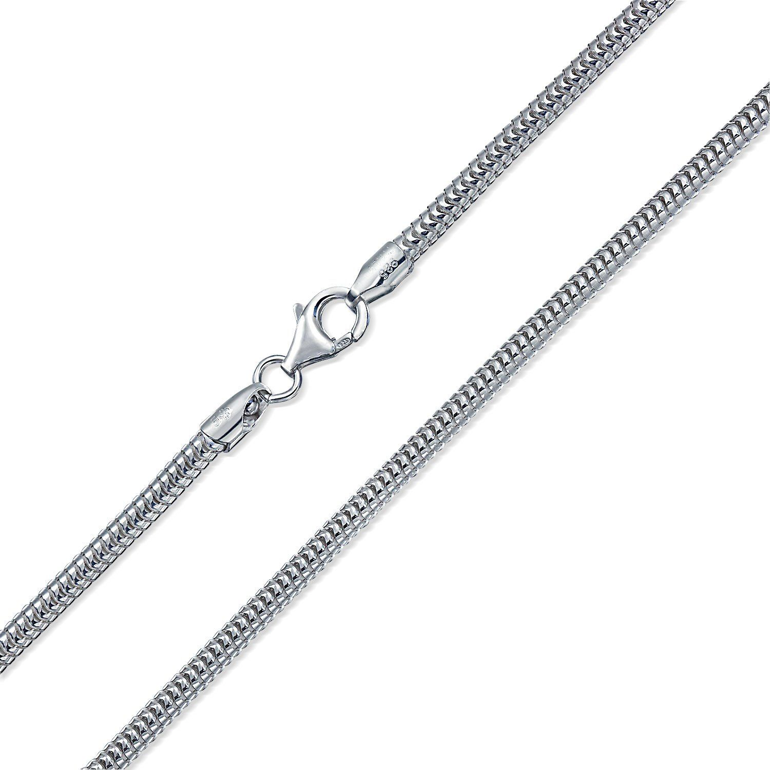 24inch rolo chain necklace wholesale 5PCS 925sterling solid silver 1MM 16inch