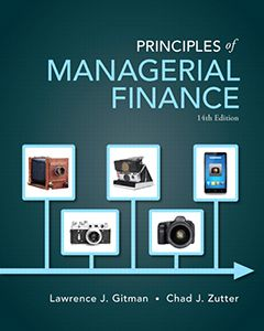 Principles Of Managerial Finance 14th Edition Solutions Manual By