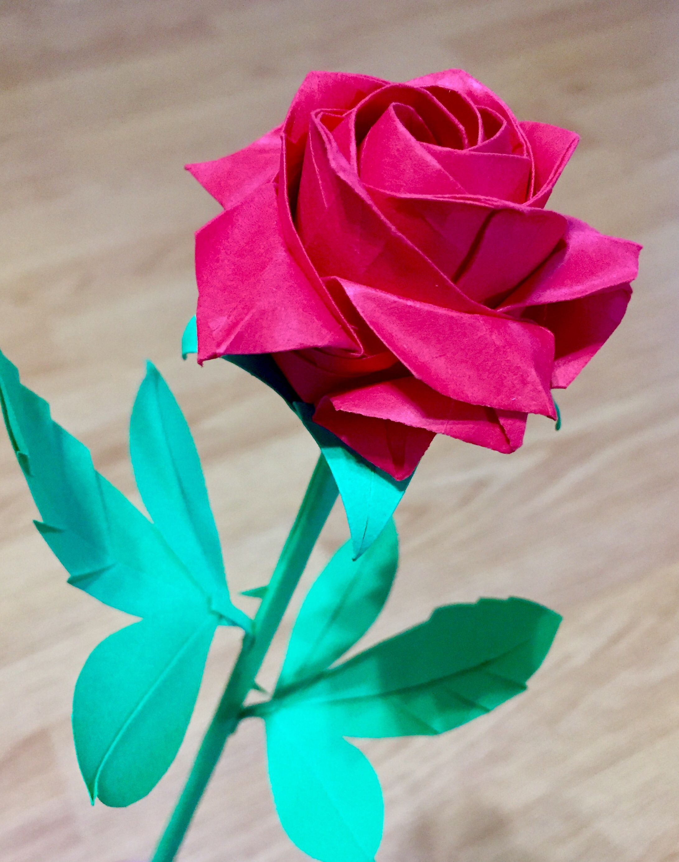 Amazing Origami Pentagon Rose Paper Flowers Paper Roses Easy Origami Flower