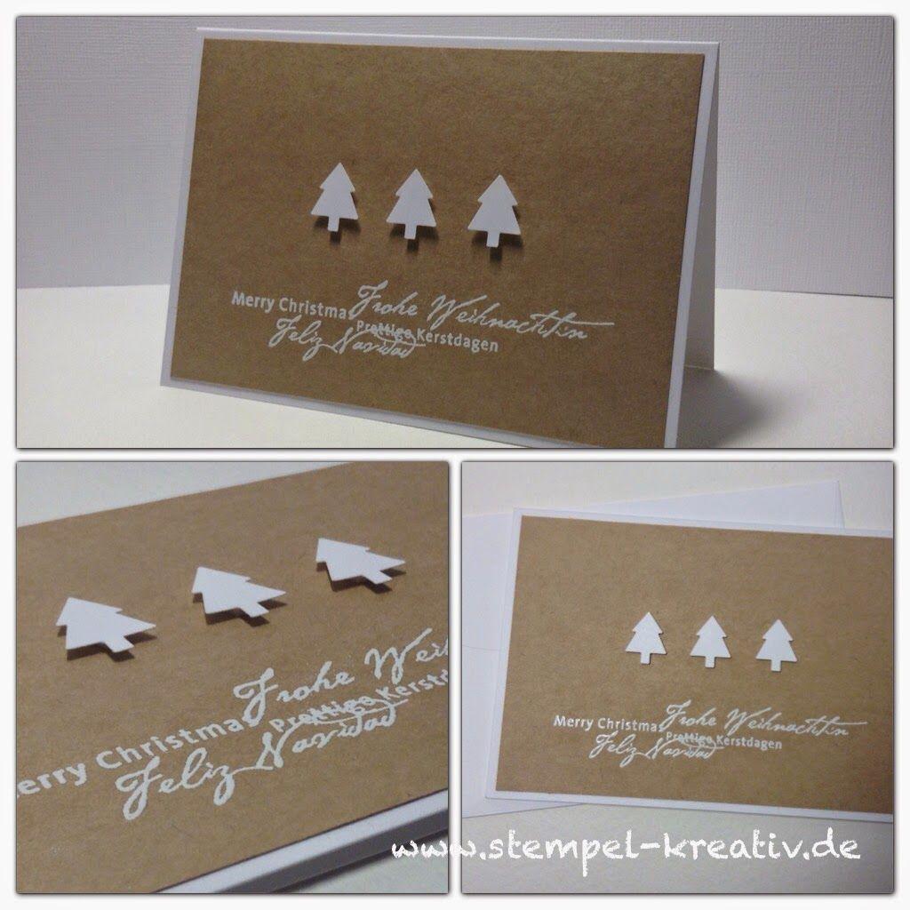 f r diese weihnachtskarten habe ich die gru k rtchen mit. Black Bedroom Furniture Sets. Home Design Ideas