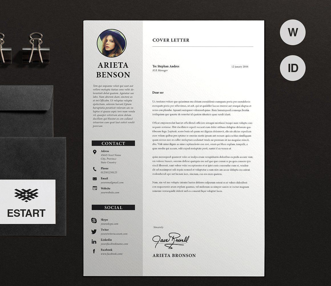 Resume Cv Ms Word Unique Resume Template Resume Cv Cover Letter For Resume