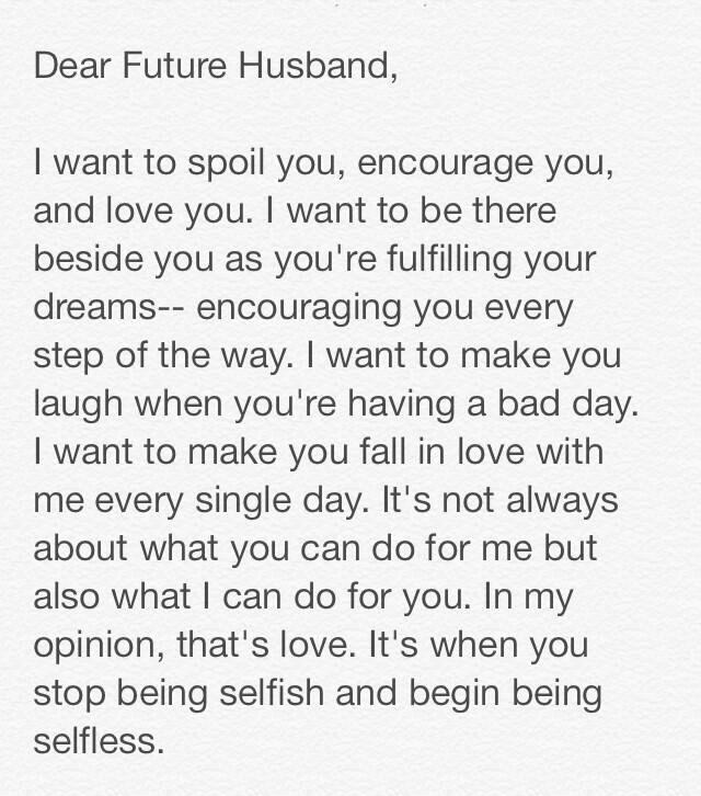 To My Future Husband On To My Future Husband Future Husband Words