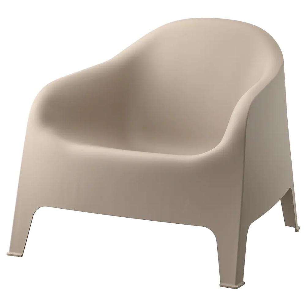 Skarpo Armchair Outdoor Dark Beige Ikea In 2020 Ikea