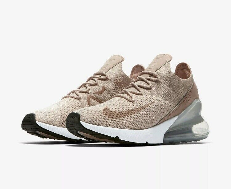Nike Air Max 270 Flyknit Womens Sz 12 Guava IceParticle