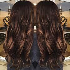 Risultati immagini per chocolate brown hair with caramel ombre