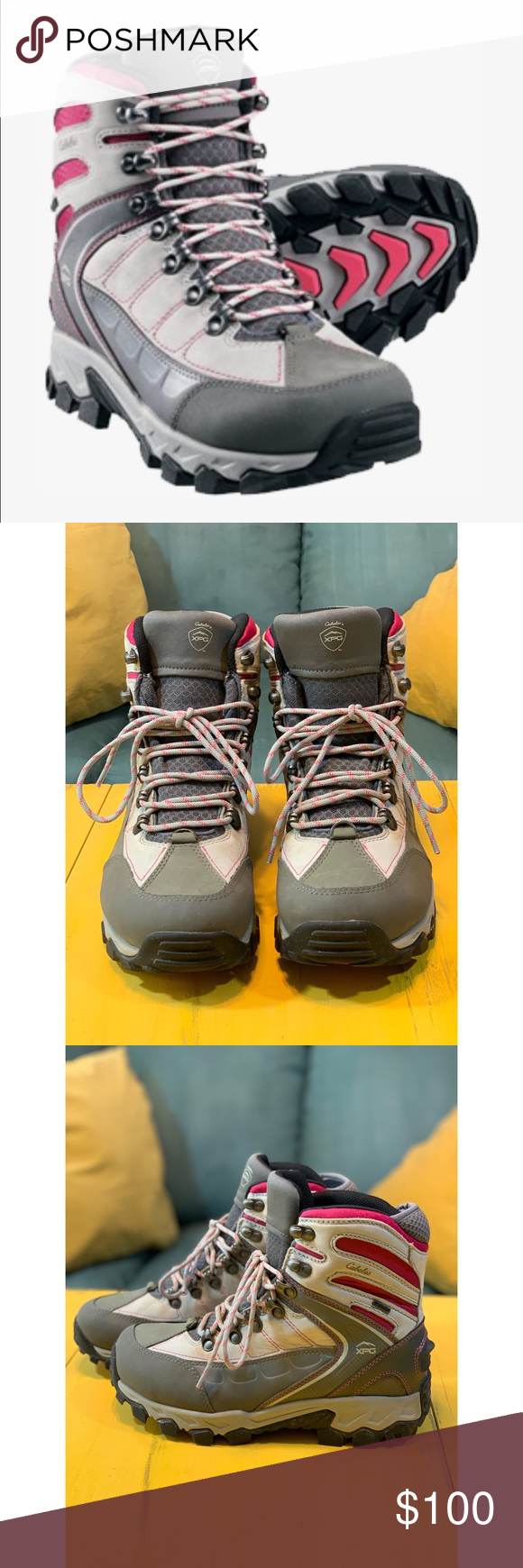 7b4efb9ca57 Cabela's XPG Women's Snow Hikers RARE COLOR and completely SOLD OUT ...