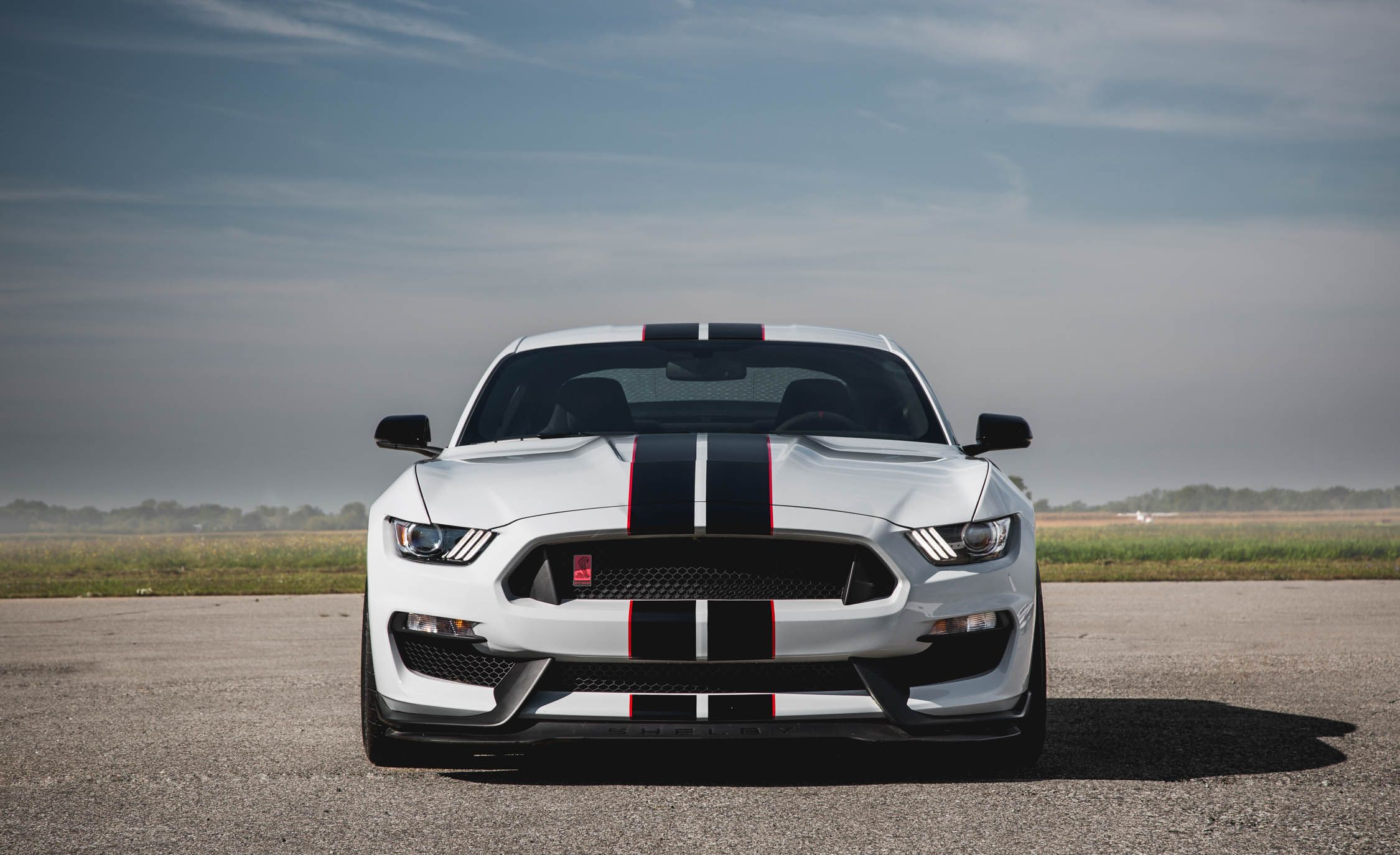 2016 Ford Mustang Shelby Gt350r Exterior Front View 7856 Cars