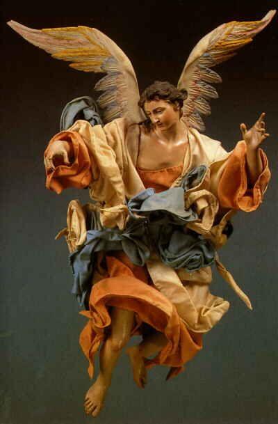 particolare per presepe | Angeli, Presepe, Arte
