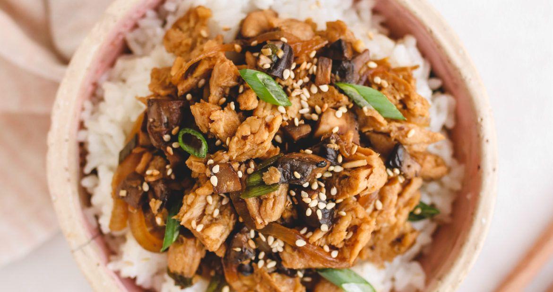 "Vegan ""Bulgogi"" Korean BBQ Beef (gluten-free, refined ..."