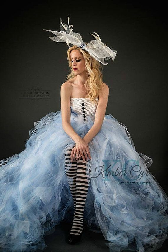 Finally a large adult tutu dress customize to any theme alice alice in wonderland dress solutioingenieria Gallery