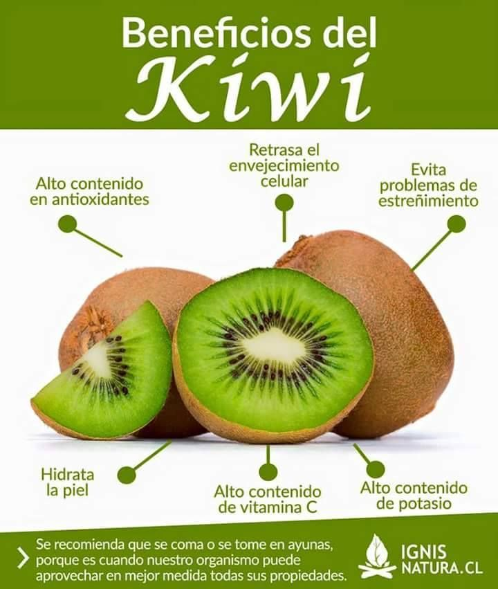 Propiedades del kiwi para bajar de peso