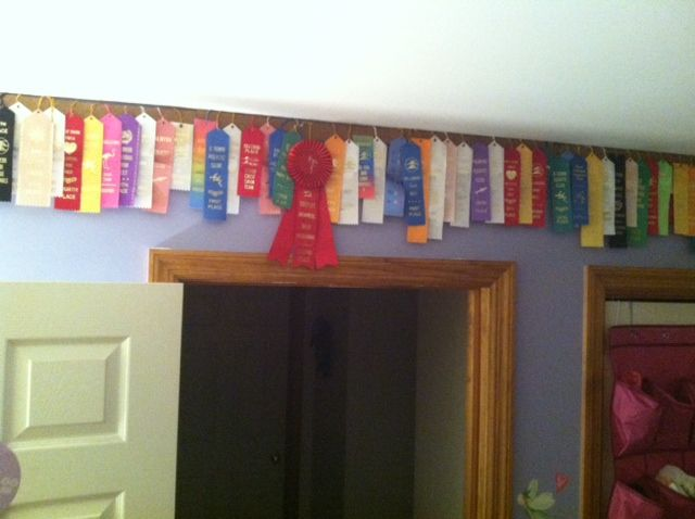 Displaying ALL Those Swim Ribbons...cork Board From Office Max! Instant  Wallpaper