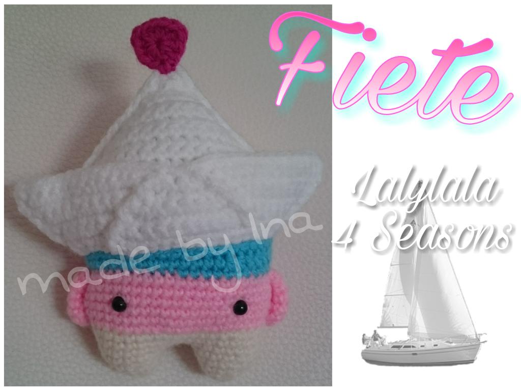 paper boat Fiete made by Ina K. / crochet pattern by lalylala ...