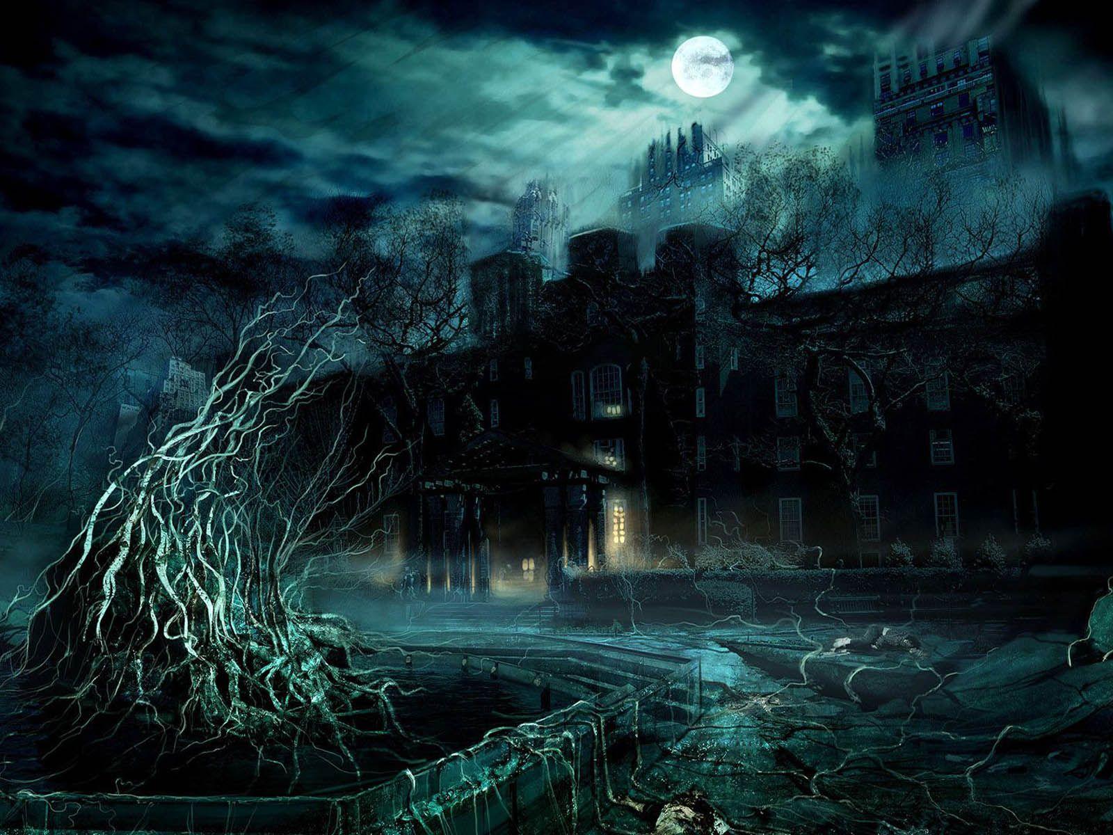 Fantasy The Fantasy Art Wallpapers Fantasy Art Desktop Wallpapers Fantasy Gothic Wallpaper Dark Wallpaper Alone In The Dark