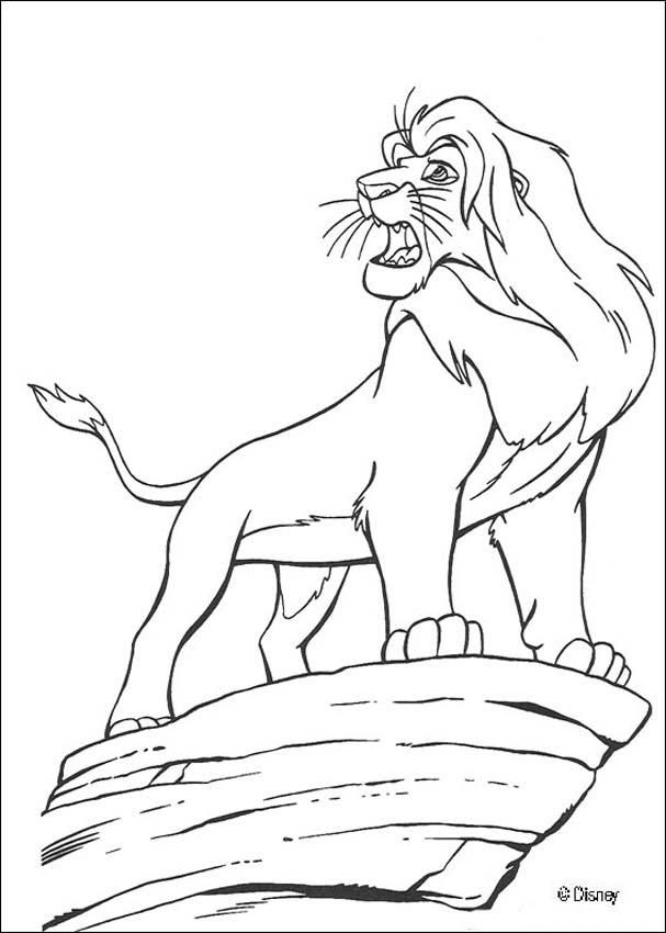 Beautiful Lion King Coloring Pages 72 Discover this coloring page