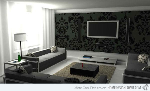 modern black living room with blinds 20 contemporary and white rooms home decor