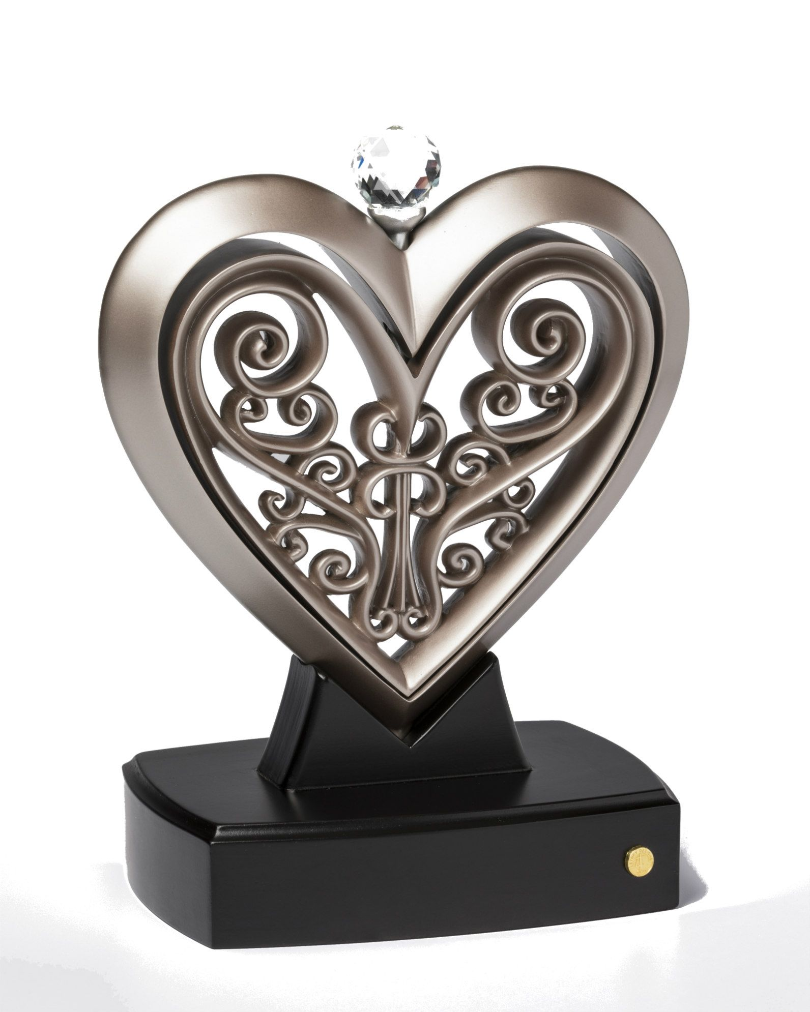 The Unity Heart® Special Edition Platinum Unity cross