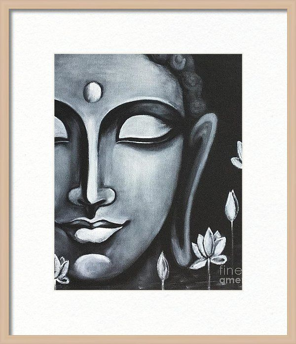 Peace Framed Print by Pratibha Madan | Buddha, Peace and Paintings