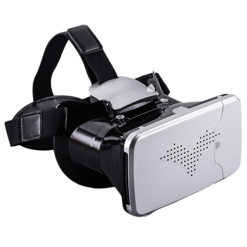 3D Glasses Head Mount 360 Degree VR Virtual Reality For 3.5 to 6.0 inches Phone + Remote Control