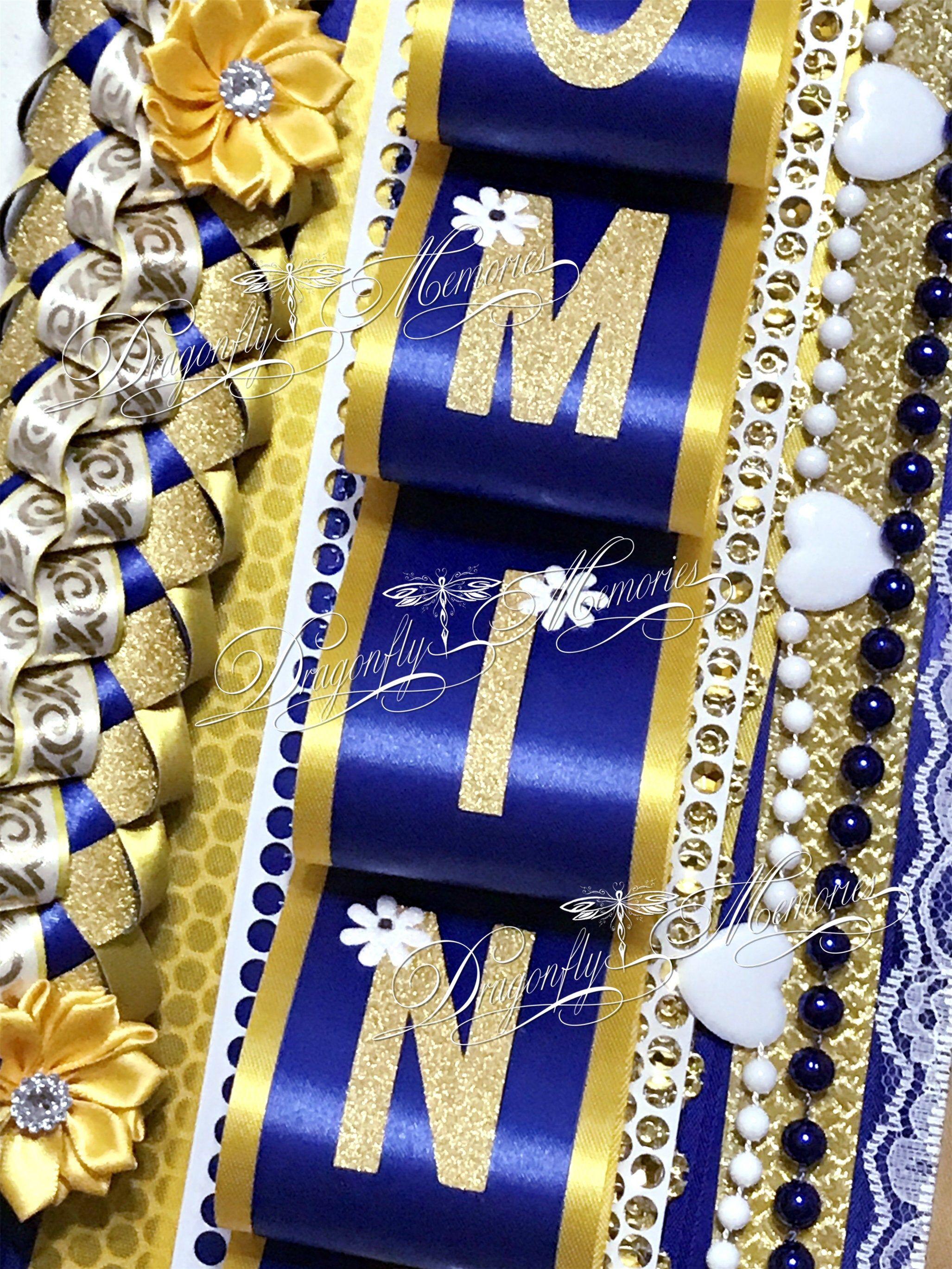 Waist length Personalized Band Homecoming Mum Junior Petite Single Homecoming Mum Sophomore Senior Texas Mum High School Mum Freshman