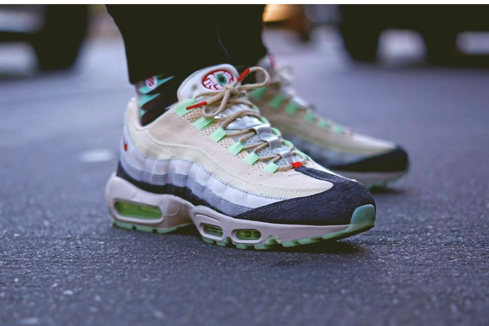 nike air max 95 halloween sneakerholics anonimo pinterest